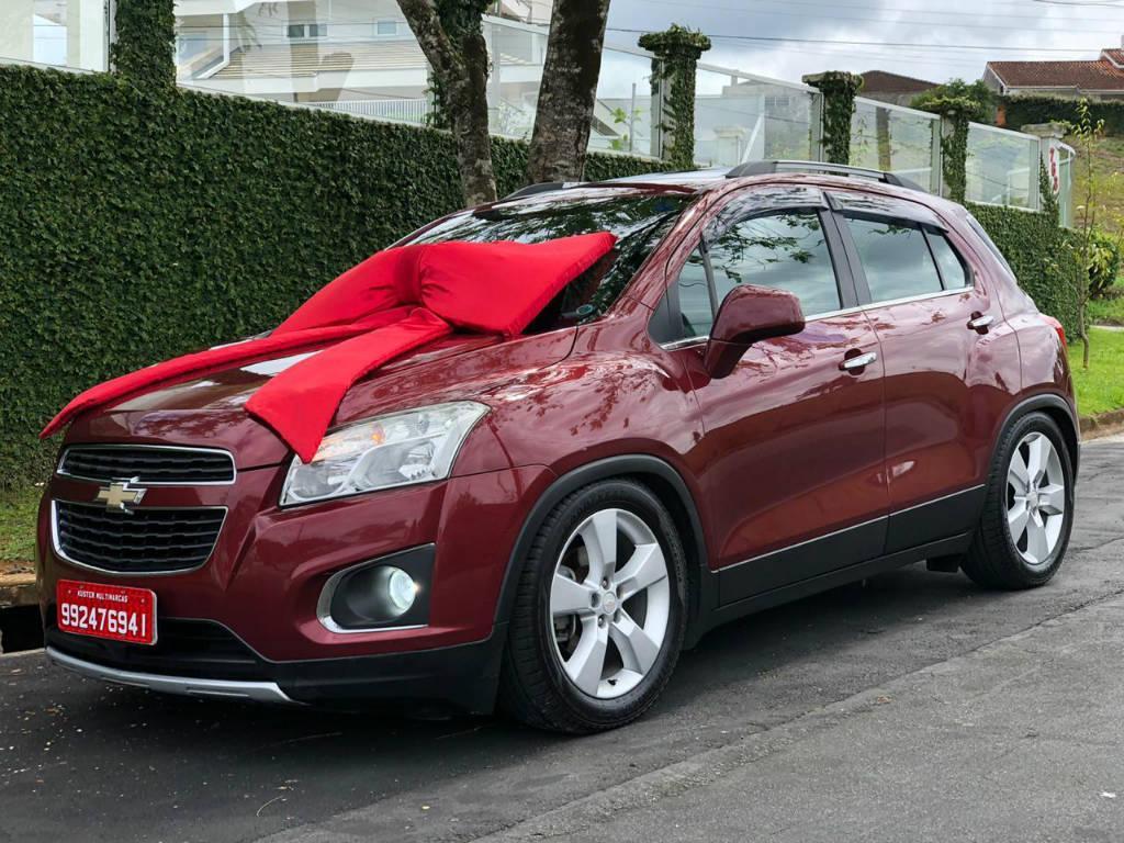 Foto numero 0 do veiculo Chevrolet Tracker LTZ 1.8 AUT - Vermelha - 2013/2014