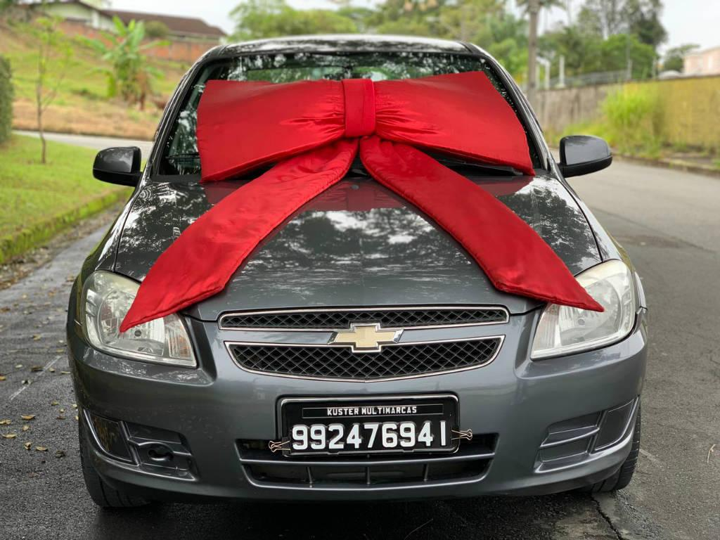Foto numero 2 do veiculo Chevrolet Prisma 1.4 LT - Cinza - 2012/2012