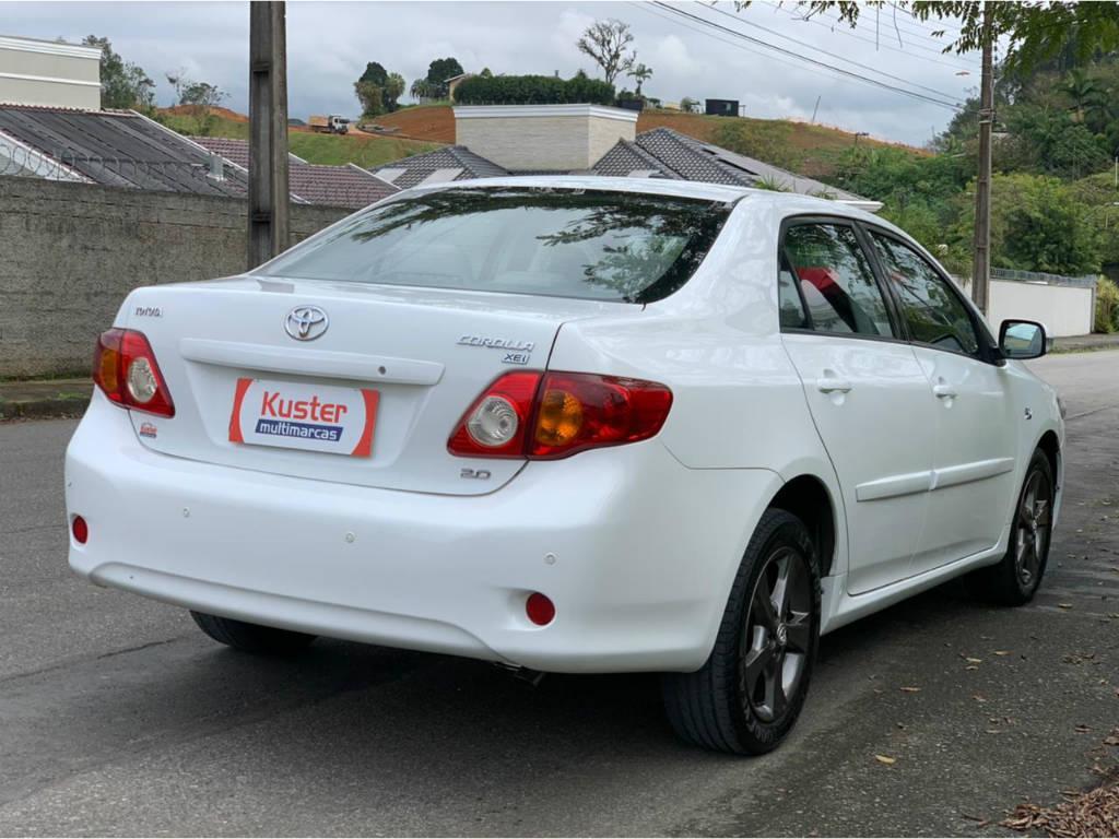 Foto numero 5 do veiculo Toyota Corolla ZEI 2.0 AUT - Branca - 2010/2011