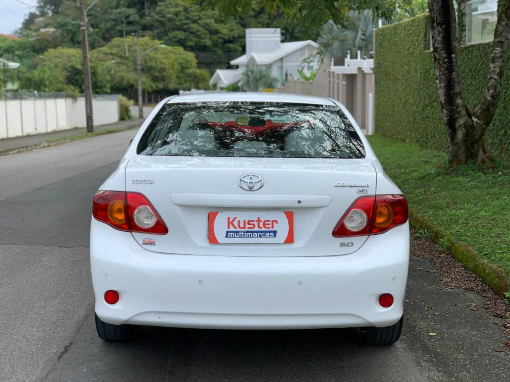 Foto numero 6 do veiculo Toyota Corolla ZEI 2.0 AUT - Branca - 2010/2011