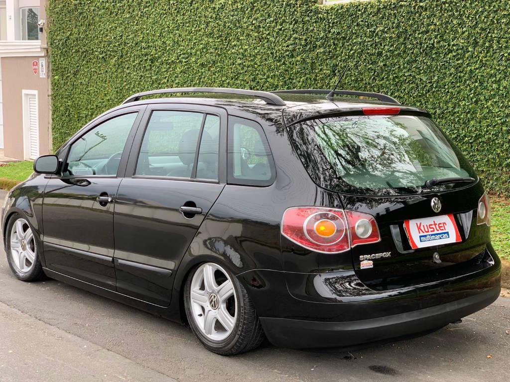Foto numero 7 do veiculo Volkswagen SpaceFox 1.6 MI - Preta - 2009/2010